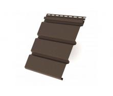 Панель софіта коричнева карнизної підшивки Rainway