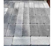 Тротуарна плитка Gartec Цегла без фаски 200х100х40 мм колор мікс