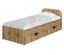 Ліжко Соня 1 з ящиками 80х190 Пехотін
