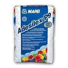 Клей цементний для керамічної плитки Mapei Adesilex P9 Express 25 кг