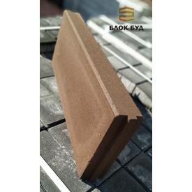 Бордюр коричневий 60х200х500 мм