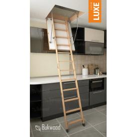 Чердачная лестница Bukwood Luxe Mini 90х60 см
