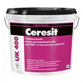 Клей для ПВХ покрытий CERESIT UK 400