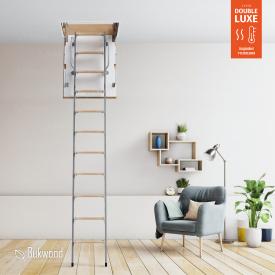 Чердачная лестница Bukwood Double Luxe Metal Mini 85х60 см