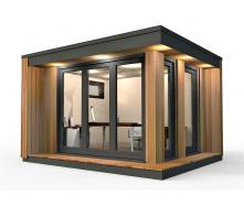 Барнхаус сучасний модульний будинок 8х4 м