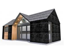 Барнхаус сучасний модульний будинок 4х8 м