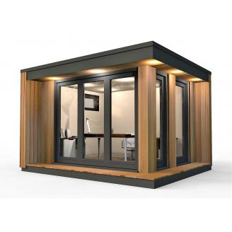 Барнхаус сучасний модульний будинок 4х3 м
