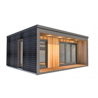 Барнхаус сучасний модульний будинок 3х4 м