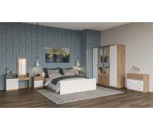 Спальня Кім Світ меблів Артізан білий