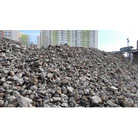 Дроблений бетон фракція 0-80