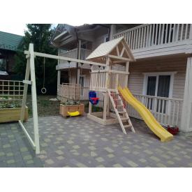 Деревянный детская площадка WOODEN TOWN №03 Д * Ш * В - 4,4м * 4,05М * 3,5М